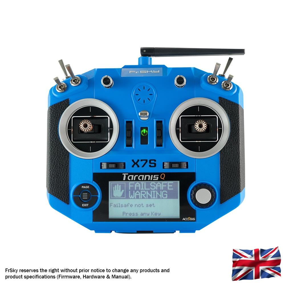Taranis Q X7S Sender, blau
