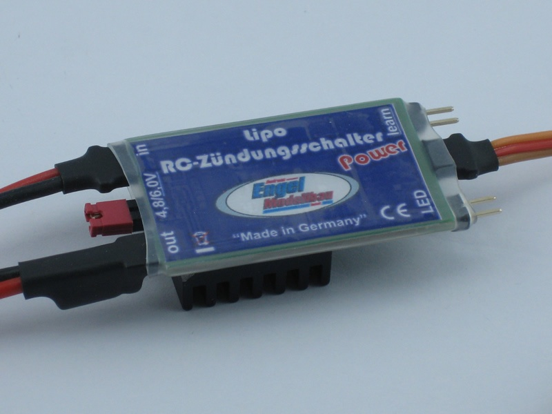 Lipo RC-Ignition Switch Power