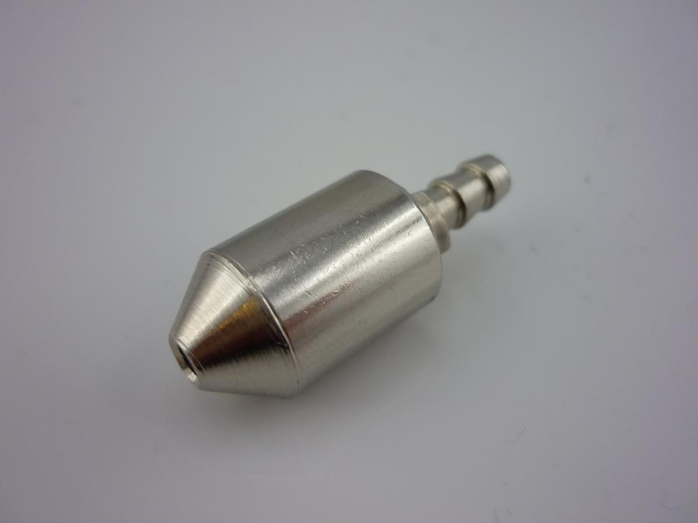 Benzinfilter, metall, zerlegbar zum Reinigen
