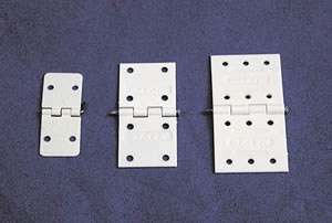 Pin Hinges, 34 x 16 mm