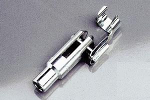 Gabelköpfe 2St M 4 / Alu