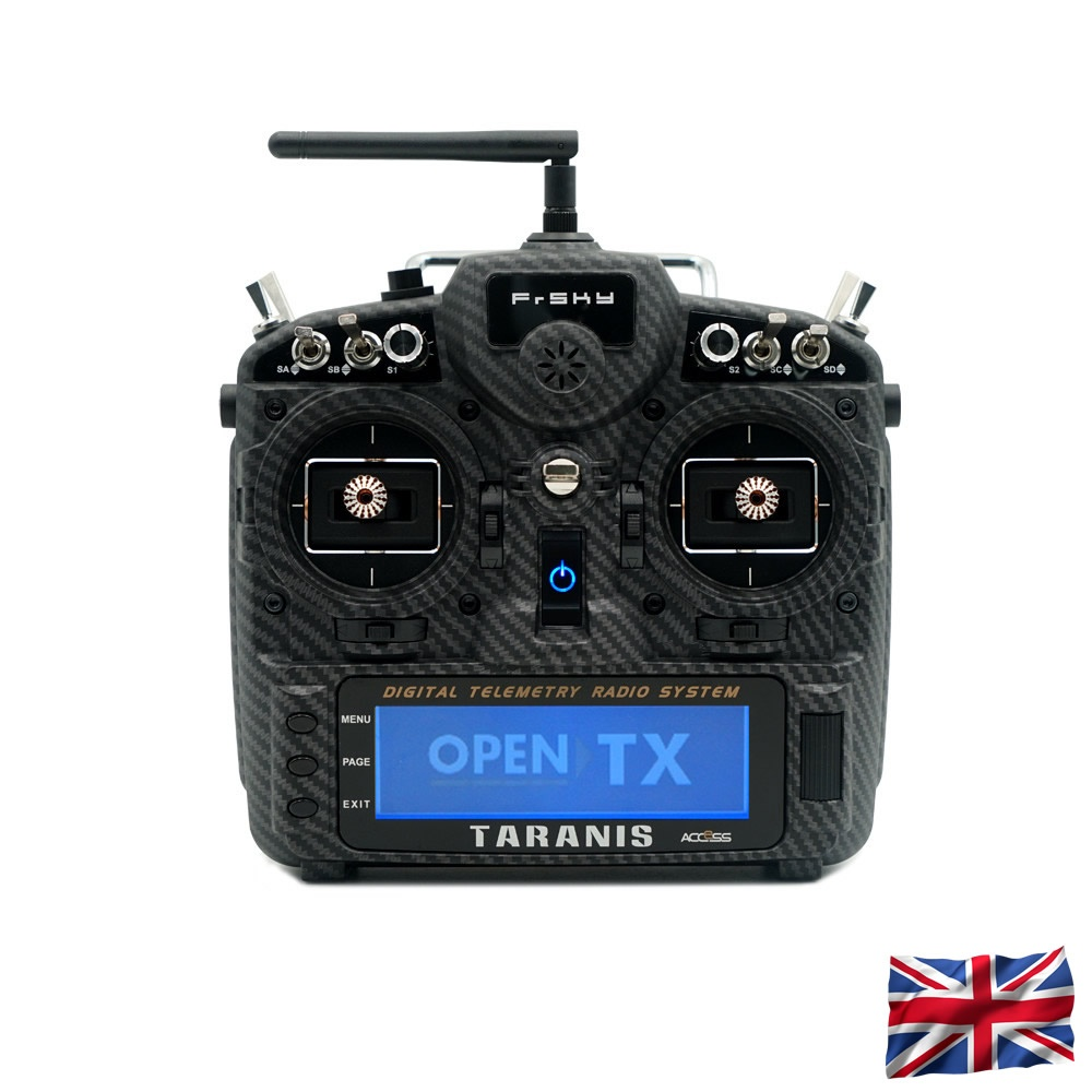 TARANIS X9D plus 2019 SE EU/LBT FrSky transmitter Carbon