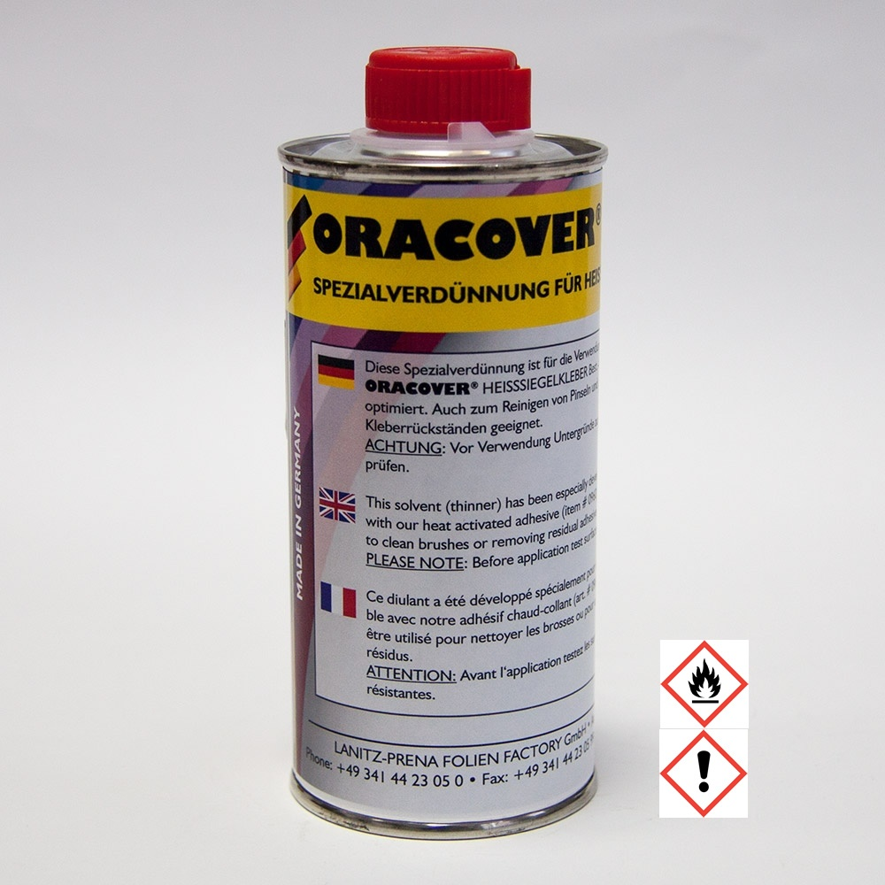 ORACOVER Special thinner for Iron-on adhesive (250 ml)