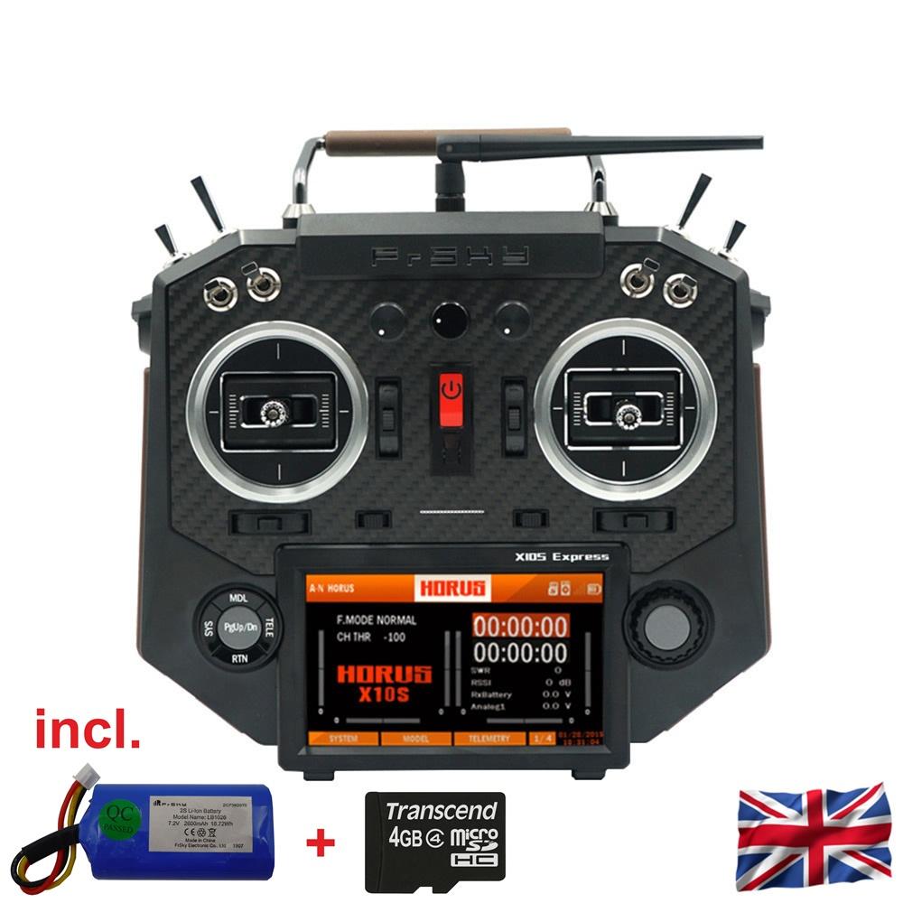 HORUS X10S Express EU/LBT FrSky transmitter Carbon Fiber