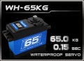 HD-Power Digital Servo WH-65KG wasserdicht