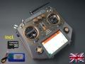 HORUS X10 Express EU/LBT FrSky transmitter Amber