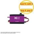 FrSky Xact Low Servo HV 5502 (4 Stück) (4 für 3)