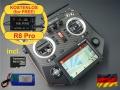 HORUS X10S Express EU/LBT FrSky Senderset Carbon 2,4Ghz