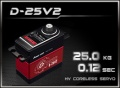 Power-HD Digital HV Servo D-25V2 HV