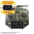 HORUS X10 Express EU/LBT FrSky Sender Amber 2,4Ghz
