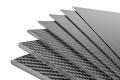 Kohlefaserplatte 0,5x400x250 mm