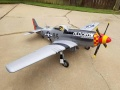 TopRC P-51D Mustang OLD CROW 89 ARF