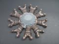 Sternmotorattrappe 9 Zylinder, 145 mm DRM