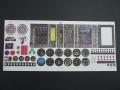 Klebebogen Cockpit-Instrument