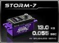 Power-HD Digital BL Servo STORM-7 HV (Black)