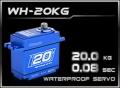 HD-Power Digital Servo WH-20KG wasserdicht