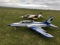 TopRC Sport Jet Odyssey Blau/Silber 91 ARF
