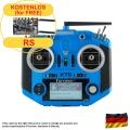 Taranis Q X7S ACCESS transmitter, blue, german language