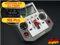 HORUS X12S EU/LBT silver FrSky transmitter german language