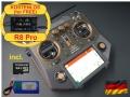 HORUS X10 Express EU/LBT FrSky Sender Amber 2,4Ghz, dt. Menü