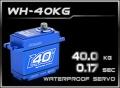HD-Power Digital Servo WH-40KG wasserdicht